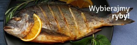 upieczona ryba na talerzu